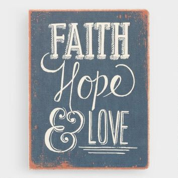 Deconstructed Faith, Hope and Love Journal
