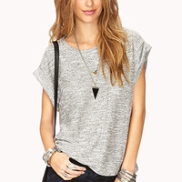 No-Fuss French Terry Top | FOREVER 21 - 2000072663