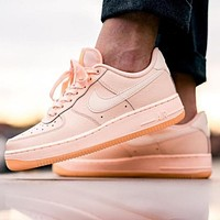 Inseva Nike Air Force 1 AF1 Pink Women's Low-Top Sports Running Shoes