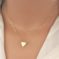 Shiny Jewelry New Arrival Gift Accessory Stylish Simple Design Chain Necklace [7495427911]