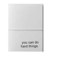 you can do hard things note cards