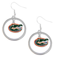 Florida Gators NCAA Dangle Hoop Earrings