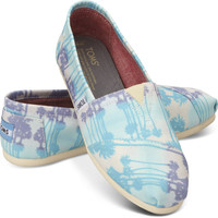 BLUE PALM TREES WOMEN'S CLASSICS