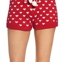 Betsey Johnson Sweater Pajama Shorts | Nordstrom
