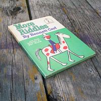 Vintage Book More Riddles by Bennett Cerf 1961 I Can Read It All By Myself Dr. Seuss Beginner Books