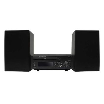 MEMTEQ New Speakers Set Micro Hi-Fi Shelf System with Bluetooth Compact CD Player