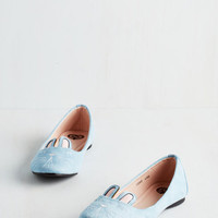 Quirky Furry Up, We're Dreaming Flat in Sky by T.U.K. from ModCloth