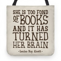 She Is Too Fond of Books