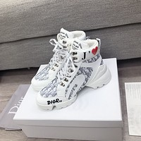 dior fashion men womens casual running sport shoes sneakers slipper sandals high heels shoes 317