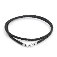 Bling Jewelry Black Braided Cord