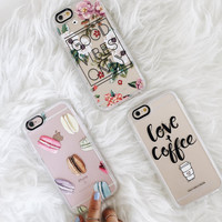 Simple iPhone 7 & 7 Plus Case (Love and Coffee Pattern) by Casetify