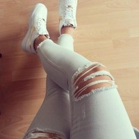 Fashion Online Nike Wmns Air Force 1 White Gold Womens Casual Shoes