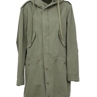 Faith Connexion Fishtail Hem Parka - Patron Of The New - Farfetch.com