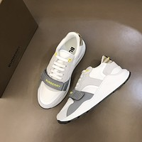 Burberry 2021Men Fashion Boots fashionable Casual leather Breathable Sneakers Running Shoes0509em
