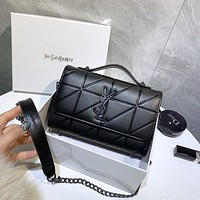 YSL Women Leather monnogam Handbag Crossbody bags Shouldbag Bumbag