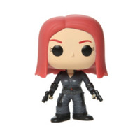 Marvel Captain America: The Winter Soldier Pop! Black Widow Vinyl Figure