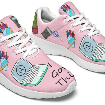 Administrative Assistant Pattern Sneakers