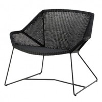 Breeze lounge chair, black