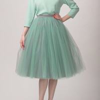 Tulle skirt, long petticoat, high quality tutu skirts, tulle tutu, sex and the city