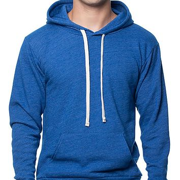 NEW COLOR! Royal Blue Popover Hooded Fleece Sweatshirt - Made in USA
