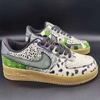 Nike Air Force One All-Star Trend Camouflage Edition All-match Sports Shoes