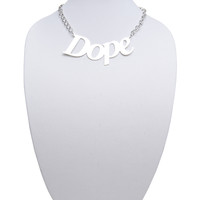 Dope Statement Necklace | Wet Seal