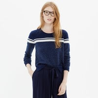 Side-Zip Pullover Sweater
