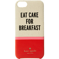 Kate Spade New York Eat Cake For Breakfast Resin Phone Case for iPhone® 5 and 5s