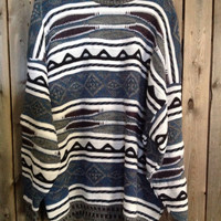 "Vintage ""ugly""  fall and winter sweater size XXL"