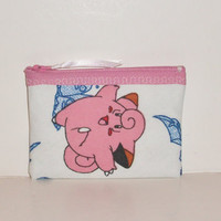 Pokemon-Clefairy Coin Purse-Handmade