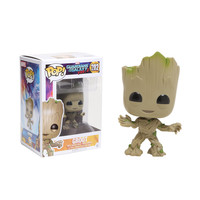 Funko Marvel Guardians Of The Galaxy Vol. 2 Pop! Groot Vinyl Bobble-Head