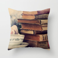 The Best Companions Throw Pillow by Tangerine-Tane