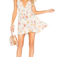 Privacy Please Sigsbee Dress in Creme
