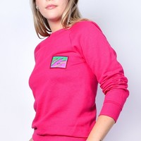 ECH Deadstock Totally Rad Bright Sweatshirt