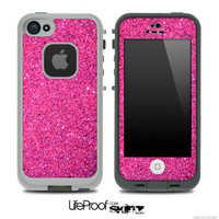 Pink Glitter Ultra Metallic Skin for the iPhone by TheSkinDudes