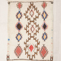 One-Of-A-Kind 4x5 Moroccan Tufted Boucherouite Shag Rug - Urban Outfitters