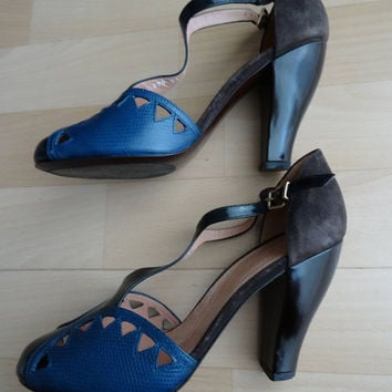 Shoes salomes ROBERT CLERGERIE leather size 39 - uk 6 - us 7.5 - it 38