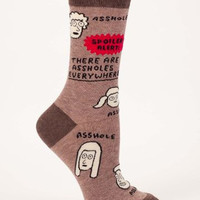 There Are Assholes Everywhere -- Socks
