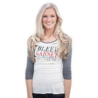 Judith March Women's FSU Baseball Tee - I Bleed Garnet and Gold