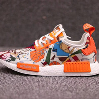 HERMES ADIDAS  NMD R1 Fashion and leisure sports shoes