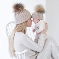 Matching Mommy and Me Winter Hats