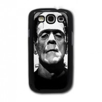 Frankenstein's Monster Horror Movie - Samsung Galaxy S3 Cover, Cell Phone Case - Black