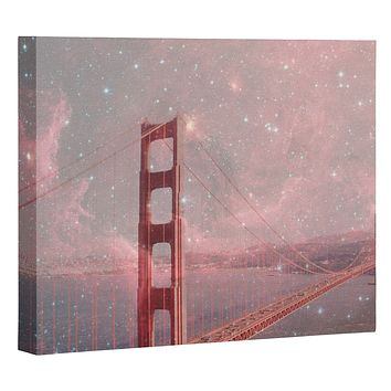 Bianca Green Stardust Covering San Francisco Art Canvas
