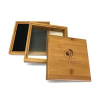 Large Bamboo Pollen Sifter Box