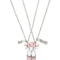 Bff Ballet Shoe Necklaces   Girls Jewelry Accessories   Shop Justice