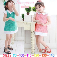 Children's Dresses Korean Girls Dress Summer Princess Dress Kids Clothing New Arrival Princess Dresses Girls New Fashion Dresses.