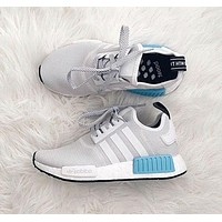 ADIDAS Women Running Sport Casual NMD Shoes Sneakers Blue