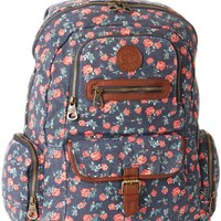 Roxy Juniors Ship Out Backpack, Topez, One Size