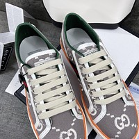 GG 1977 Men's and Women's Double G Sneakers Shoes