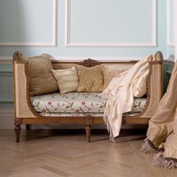 Louis XV Caned Sofa | Louis XV | Chairs and Stools